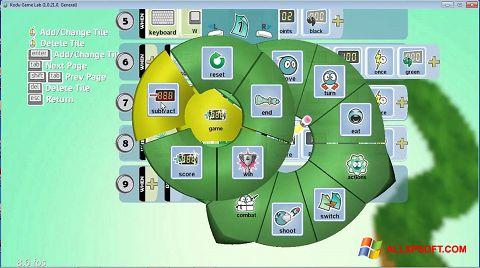 ภาพหน้าจอ Kodu Game Lab สำหรับ Windows XP