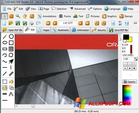 ภาพหน้าจอ PDF Reader สำหรับ Windows XP