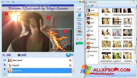 ภาพหน้าจอ Magic Camera สำหรับ Windows XP