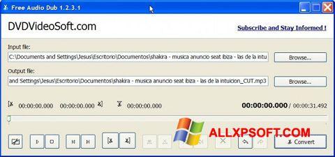 ภาพหน้าจอ Free Audio Dub สำหรับ Windows XP