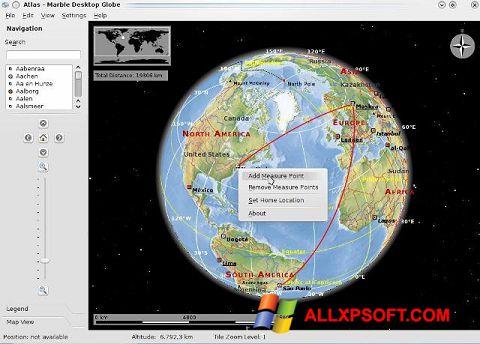 ภาพหน้าจอ Marble สำหรับ Windows XP