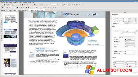 ภาพหน้าจอ Master PDF Editor สำหรับ Windows XP