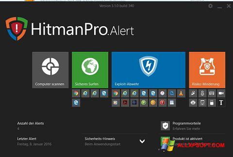 ภาพหน้าจอ HitmanPro สำหรับ Windows XP