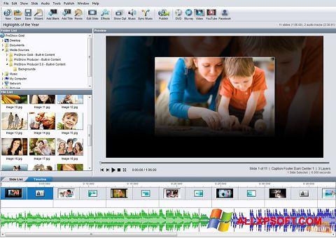 ภาพหน้าจอ ProShow Gold สำหรับ Windows XP