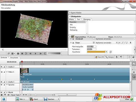 ภาพหน้าจอ Nero Vision สำหรับ Windows XP