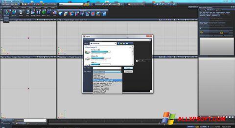 ภาพหน้าจอ ZModeler สำหรับ Windows XP