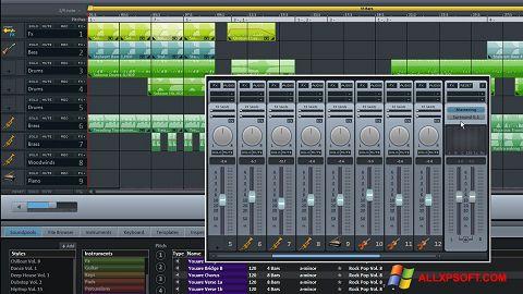 ภาพหน้าจอ MAGIX Music Maker สำหรับ Windows XP