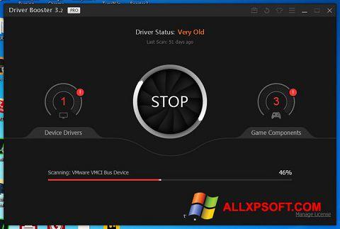 ภาพหน้าจอ Driver Booster สำหรับ Windows XP