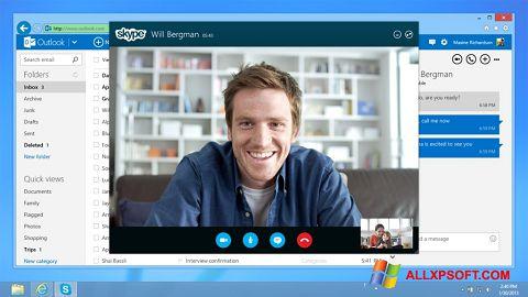 ภาพหน้าจอ Skype สำหรับ Windows XP